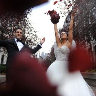 industry expert's wedding tania johnny lavimage wedding photography vera varley alesya kornetskaya bride groom wedding in canada renaissance reception hall